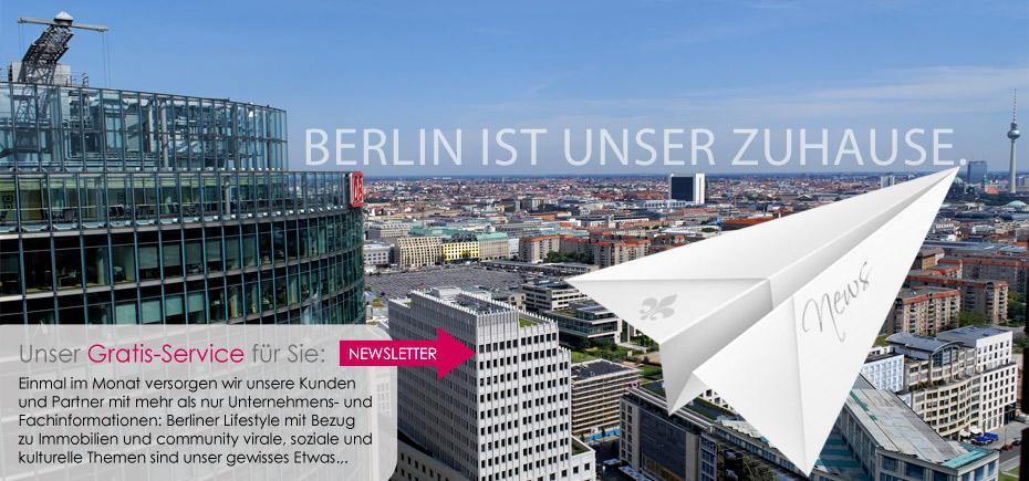 Berlin ist unser Zuhause.